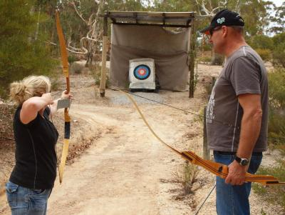 Have a go at Archery in WA the easy way
