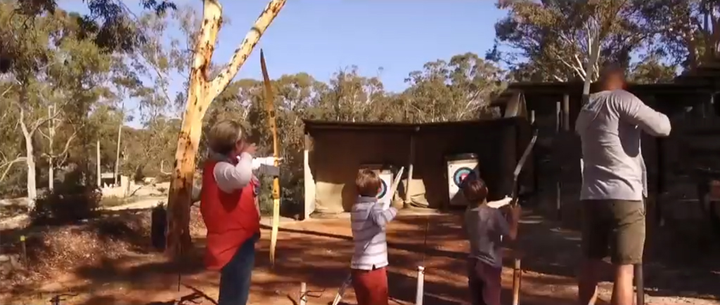 Hoddywell Archery Park features in Experience Toodyay TV ad