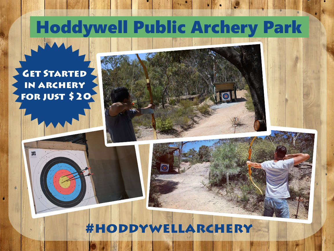 hoddywell public archery park banner